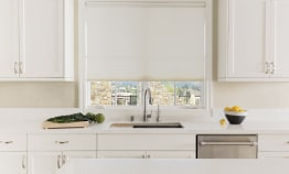 PowerView Motorization in Kitchen