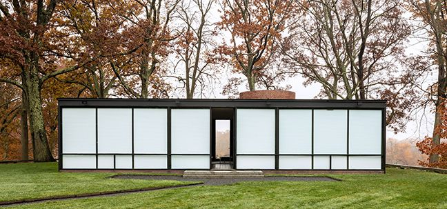 la Demeure de verre (The Glass House)