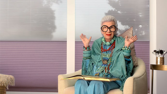 Iris Apfel video teaser banner