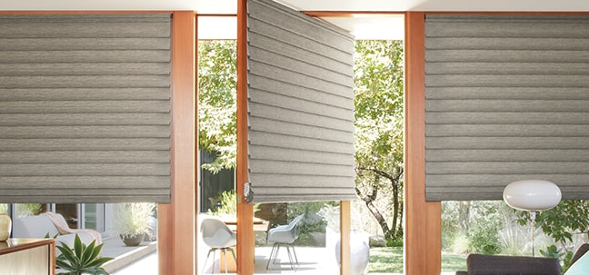 Vignette Modern Roman Shades for Doors
