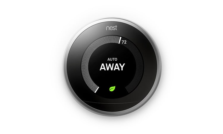 PowerView with Nest showing away