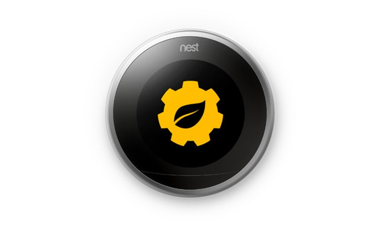 PowerView with Nest showing events