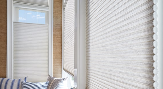 window treatments for arched windows semi circle cellular honeycomb shades custom blinds shutters and in bainbridge island wa