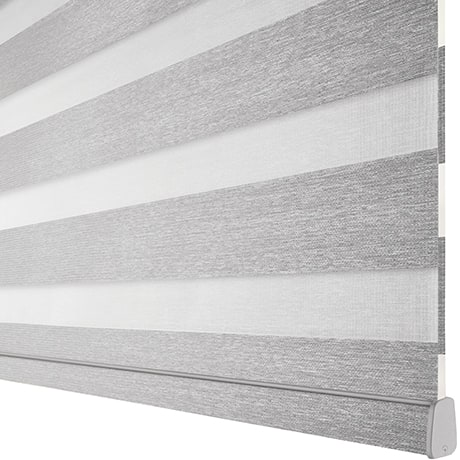 Designer Banded Shades Available With Banner