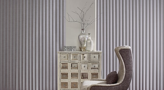Fabric vertical blinds - Cadence