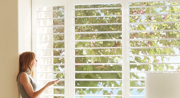 Indoor shutters - Palm Beach