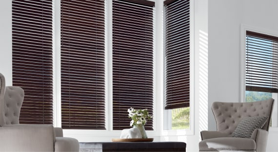 Wooden blinds - Parkland
