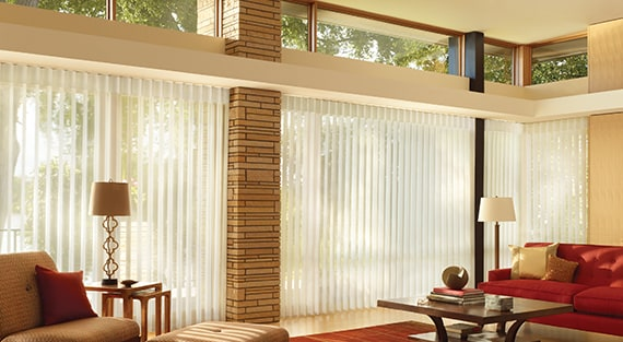 Privacy blinds - Luminette