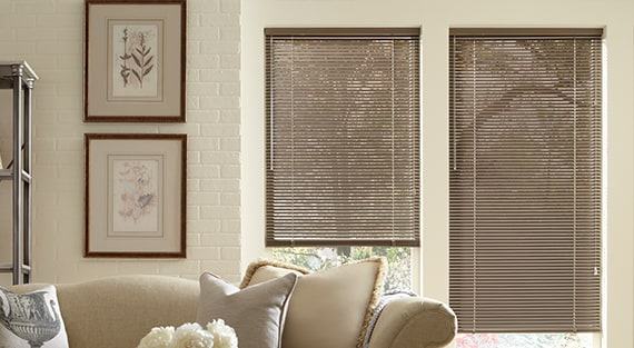 Wood and Metal Blinds - Modern Precious Metals