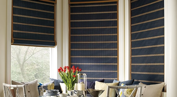 Woven wood shades - Provenance