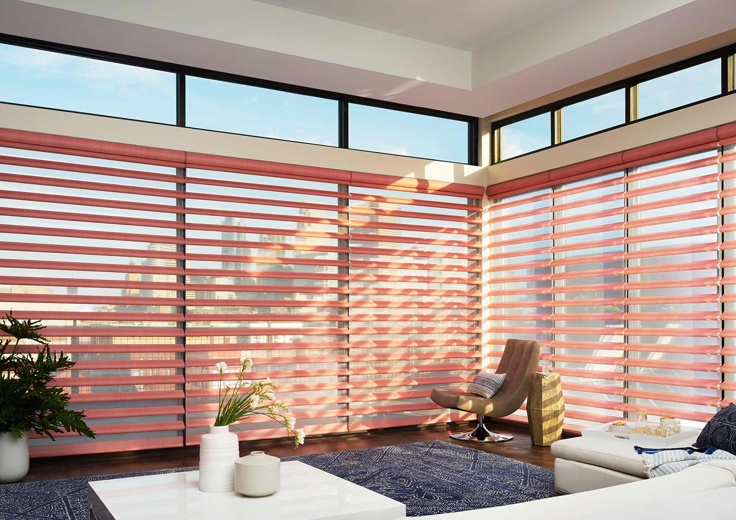 Powerview helps make your window treatments safe and energy efficient.