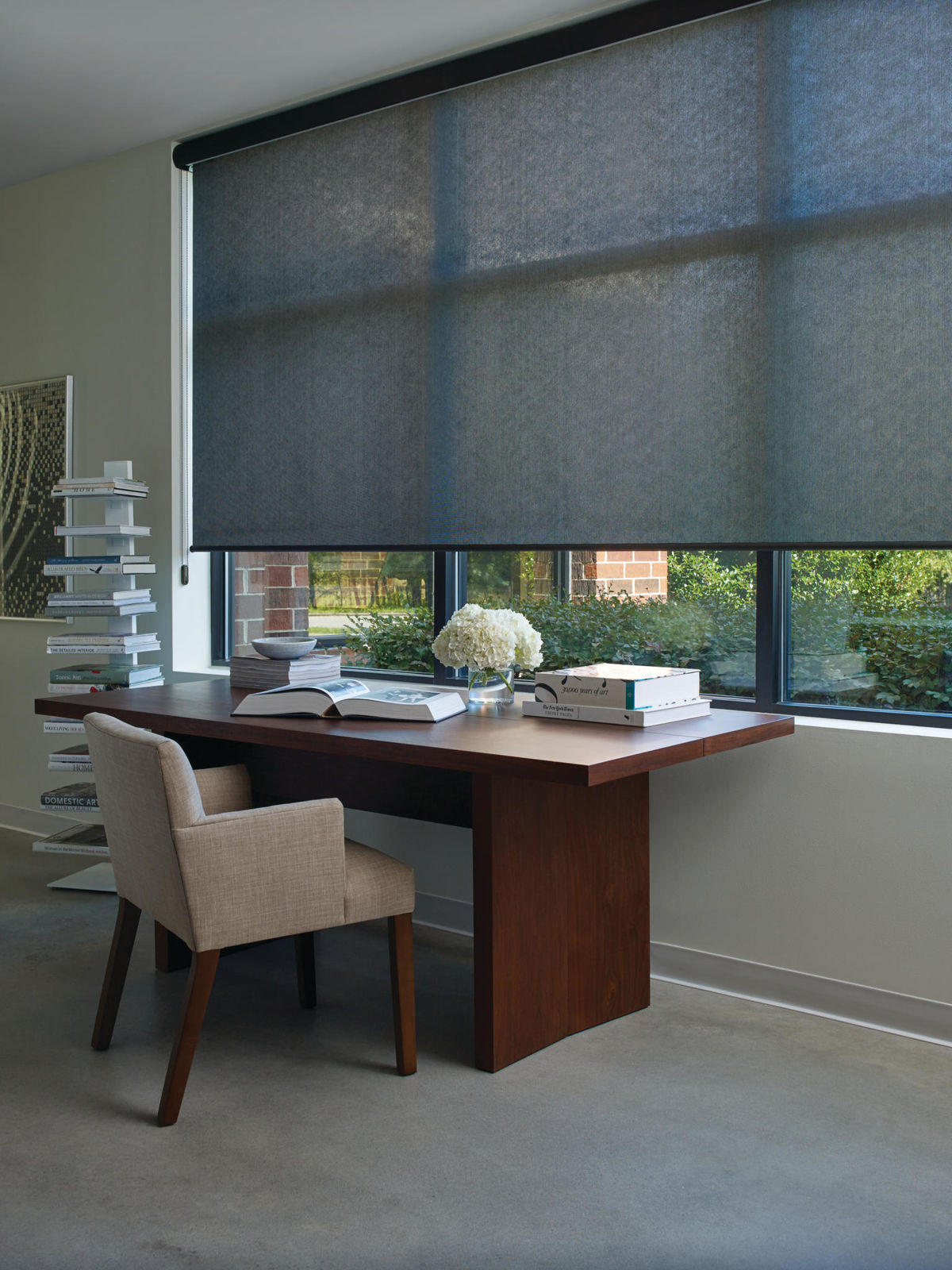 Designer Screen Shades in Radiant Twilight