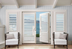 Palm Beach<sup>&trade;</sup> Polysatin<sup>&trade;</sup> Shutters