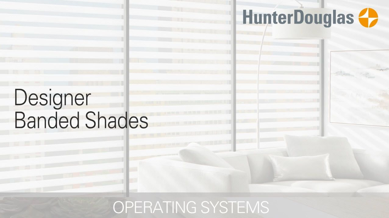 Operating System video thumbnail for Designer Banded Shades