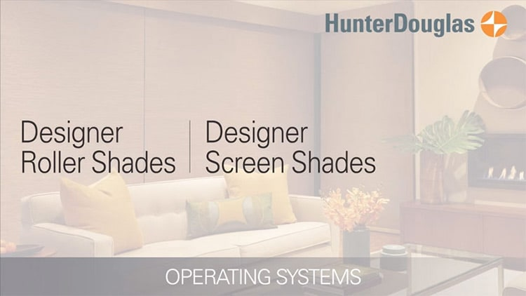 Operating System video thumbnail for Designer Roller Shades